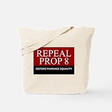 Repeal Prop 8 (Red) Tote Bag