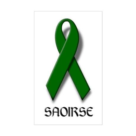 """SAOIRSE"" Rectangle Sticker"