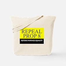 Repeal Prop 8 (Yellow) Tote Bag