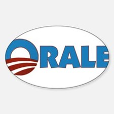 Orale Obama Oval Decal