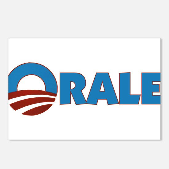 Orale Obama Postcards (Package of 8)