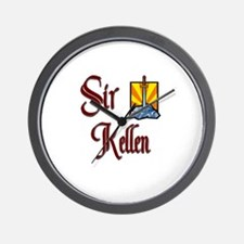 Sir Kellen Wall Clock