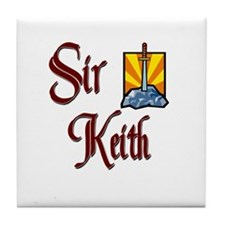 Sir Keith Tile Coaster