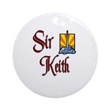 Sir Keith Ornament (Round)