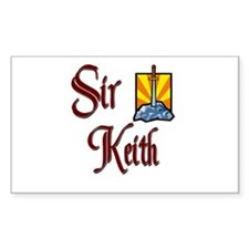 Sir Keith Rectangle Decal