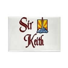 Sir Keith Rectangle Magnet