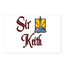 Sir Keith Postcards (Package of 8)
