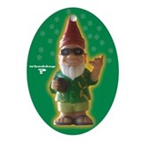 Gnome christmas Oval Ornaments