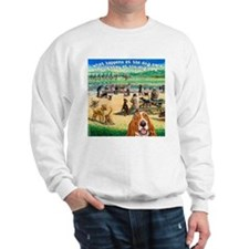 A Day at the Dog Park Sweatshirt
