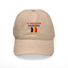 #1 Belgian Grandpa Baseball Cap