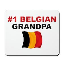 #1 Belgian Grandpa Mousepad