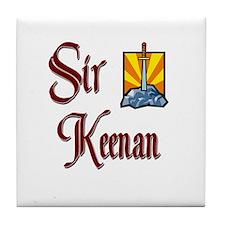 Sir Keenan Tile Coaster