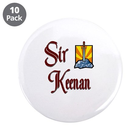 "Sir Keenan 3.5"" Button (10 pack)"