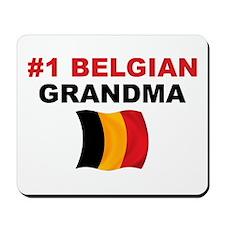 #1 Belgian Grandma Mousepad