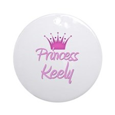 Princess Keely Ornament (Round)