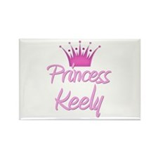 Princess Keely Rectangle Magnet
