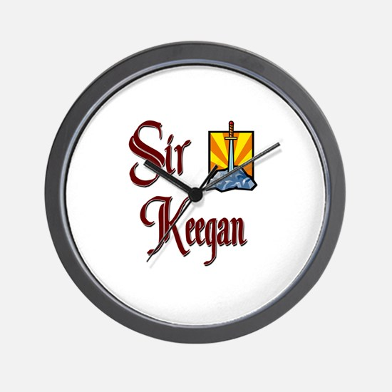 Sir Keegan Wall Clock