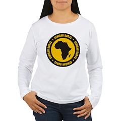 African Roots Women's Long Sleeve T-Shirt