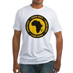 African Roots Fitted T-Shirt
