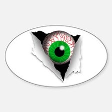 Eyeball Oval Decal