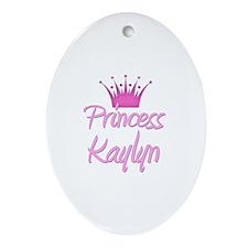 Princess Kaylyn Oval Ornament