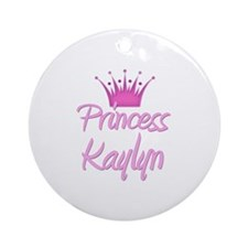 Princess Kaylyn Ornament (Round)