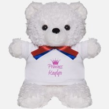 Princess Kaylyn Teddy Bear