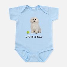 Bichon Frise Life Infant Bodysuit