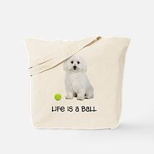 Bichon Frise Life Tote Bag