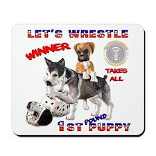 New Obama Puppy Mousepad