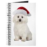 Bichon Frise Santa Journal