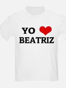 Amo (i love) Beatriz Kids T-Shirt