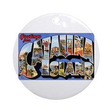 Catalina Island Keepsake (Round)