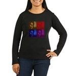 Michelle Obama Women's Long Sleeve Dark T-Shirt