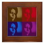 Michelle Obama Framed Tile