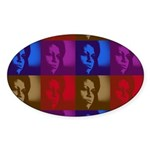 Michelle Obama Oval Sticker
