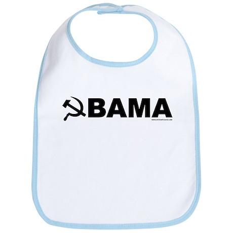 Obama Black Hammer & Sickle Bib
