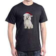 Bichon Frise Santa T-Shirt