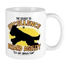 The Secret to Briard Agility Mug