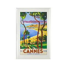 Cannes France Rectangle Magnet (10 pack)