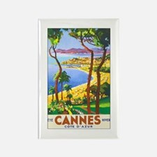 Cannes France Rectangle Magnet (10 pack)