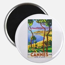 "Cannes France 2.25"" Magnet (10 pack)"