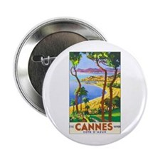 Cannes France Button