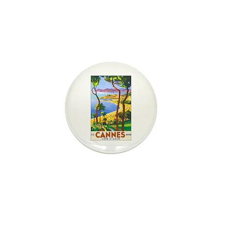 Cannes France Mini Button