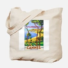 Cannes France Tote Bag