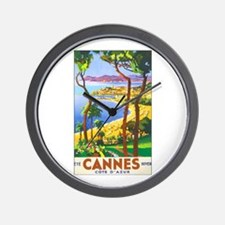 Cannes France Wall Clock