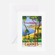 Cannes France Greeting Cards (Pk of 10)
