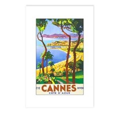 Cannes France Postcards (Package of 8)