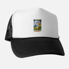 Cannes France Trucker Hat