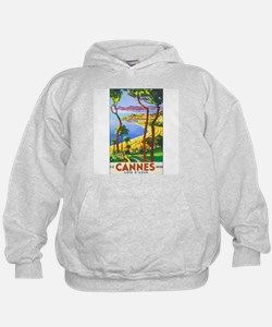 Cannes France (Front) Hoodie